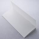 Tri-Fold Brochure 8-1/2x11 Classic Linen Solar White 100/pkg
