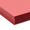 Curious Text Red Lacquer 8-1/2x14 80lb/120g 100/pkg