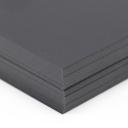 So Silk Cover Black Style 8-1/2x11 92lb/250g 100/pkg
