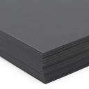 Plike Text Graphite 8-1/2x11 95lb/140g 100/pkg