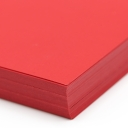 Plike Text Red 8-1/2x11 95lb/140g 100/pkg