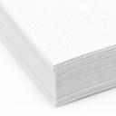 Blue 8-1/2x11-24lb Basketweave Security Paper 500/pkg