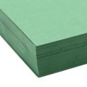 Basis Premium Cover 8-1/2x11 80lb Green 100/pkg