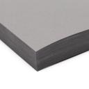 Basis Premium A-9 Foldover Cards Grey 8-1/2x11 100/pkg