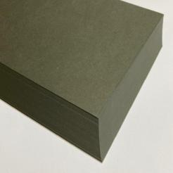 CLOSEOUTS Classic Crest Military Green 80lb Cover 8-1/2x11 125/pkg