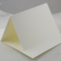6 Bar Vanilla Plain Foldover Card 80lb 6 1/4x9 1/2 250/Box