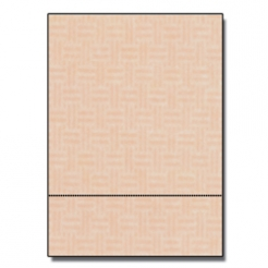 Perforated at 3-2/3 Check Paper Pink 8-1/2x11 24lb 500/pkg