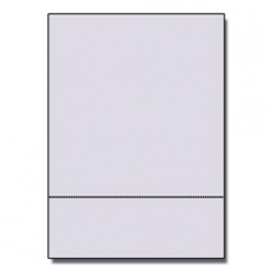 Perforated at 3-2/3 Bristol Cover Gray 8-1/2x11 67lb 250/pkg