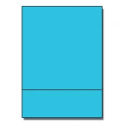Perf at 3-1/2 Astro 65lb Cover Lunar Blue 8-1/2x11 250/pkg