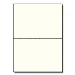 Half-Fold Brochure 8-1/2x11 80lb Text Natural Crest 125/pkg
