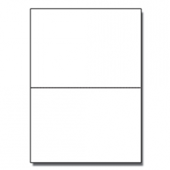 Half-Fold Brochure 8-1/2x11 80lb Text Solar Wht Crest 125/pk