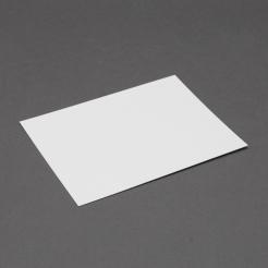 Crest 5-1/2 Baronial White Panel Card ( 4 1/4 x 5 1/2]250/box