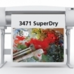 SIHL 3471 SuperDry Satin Grayback Roll-up Film 7.5mil 36in x 100ft 1/case
