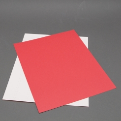 Astrobright Re-Entry Red 8-1/2x11 Label Paper 100/pkg