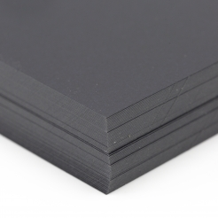 So Silk Cover Black Style 8-1/2x14 92lb/250g 100/pkg