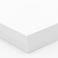 Plike Text White 12x18 95lb/140g 100/pkg