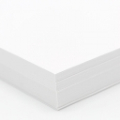 Plike Text White 8-1/2x14 95lb/140g 100/pkg