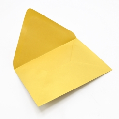 Stardream Fine Gold A-1 Euro Flap [3-5/8x5-1/8] Envelope 50/pkg