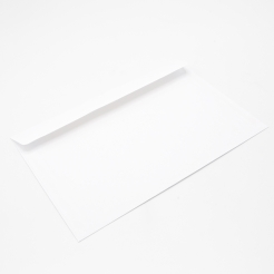 White Booklet 4-3/4x6-1/2 24lb Envelope 1000/box