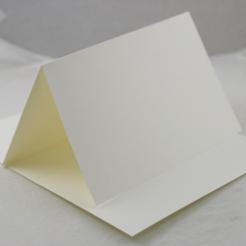 Finch 5-1/2 Bar Vanilla Plain Foldover 65lb (5 1/2x8 1/2) 250/Box