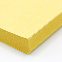 Yellow 8-1/2x11-24lb Basketweave Security Paper 500/pkg