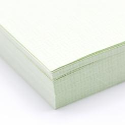 Green 8-1/2x11-24lb Basketweave Security Paper 500/pkg
