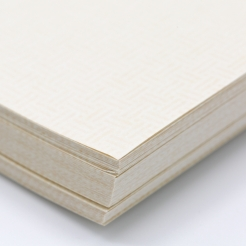 Tan 8-1/2x11-24lb Basketweave Security Paper 500/pkg