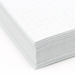 Blue 8-1/2x11-24lb Basketweave Security Paper 500/pkg