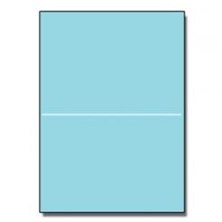 Half-Fold Brochure 8-1/2x11 67lb Exact Blue 250/pkg