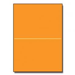 Half-Fold Brochure 8-1/2x11 65lb Astro Cosmic Orange 250/pkg