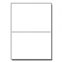 Half-Fold Brochure 11x17 80lb Classic Crest Natural Wht 125/pkg