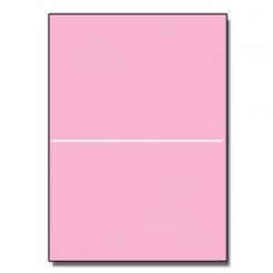 Half-Fold Brochure 8-1/2x11 67lb Exact Pink 250/pkg