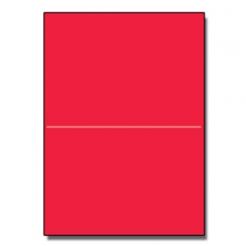 Half-Fold Brochure 8-1/2x11 65lb Astro Re-Entry Red 250/pkg