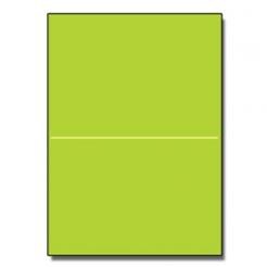 Half-Fold Brochure 8-1/2x11 65lb Astro Terra Green 250/pkg