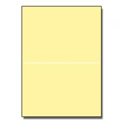 Half-Fold Brochure 8-1/2x11 67lb Exact Yellow 250/pkg