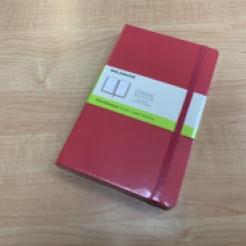 Moleskine Journal Daisy Pink (Large Plain - CLOSEOUT)