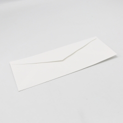Classic Linen Whitestone Monarch Envelope (3 7/8 x 7 1/2) 500/box