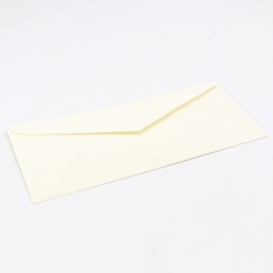 Classic Linen Natural White Monarch Envelope (3 7/8 x 7 1/2) 500bx