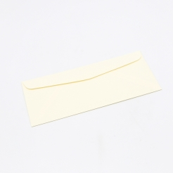 Classic Laid Window Envelope Baronial Ivory #10 24lb 500/box