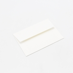 CLOSEOUTS Mohawk Via Linen Pure White A-2 Envelope 250/box