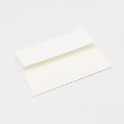 Crane's Lettra Pearl White Envelope A2 Square Flap 50pkg