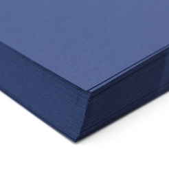 Classic Linen Cover 80lb Patriot Blue 8-1/2x11 250/pkg