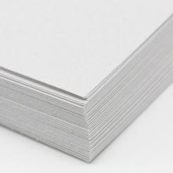 CLOSEOUTS Classic Linen Cover 80lb Silverstone 8-1/2x11 250/pkg