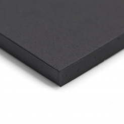 Colorplan Ebony 19x25 130lb cover 25pk