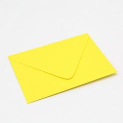 Colorplan Factory Yellow A2 Envelope 50pk
