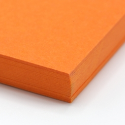 Colorplan Mandarin 19x25 130lb cover 25pk