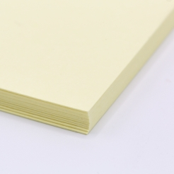 Colorplan Sorbet Yellow 19x25 130lb cover 25pk