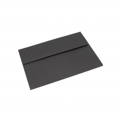 Basis Premium Envelope A1 [3-5/8x5-1/8] Black 50/pkg