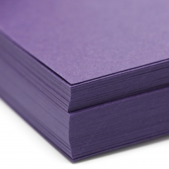 Basis Premium Cover 8-1/2x11 80lb Dark Purple 100/pkg