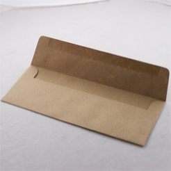 Paperworks Elements Paperbag #10 Square Flap Envelope Text 50/Pkg